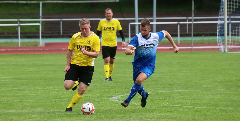 Landesliga-Kicker bestätigen gegen Greif-Reserve den Aufwärtstrend