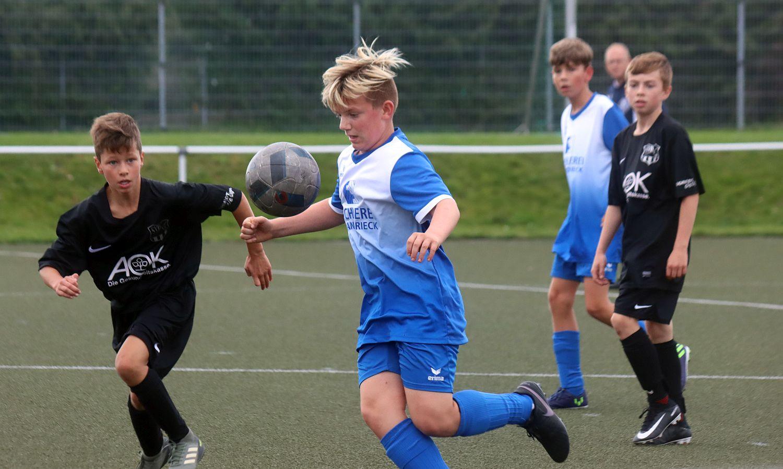 Landesliga: D1-Junioren feiern gegen Barth ihren ersten Saisonsieg