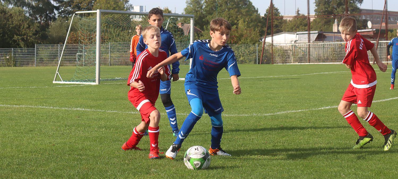 D2-Junioren erkämpfen auf eigenem Rasen einen Punkt