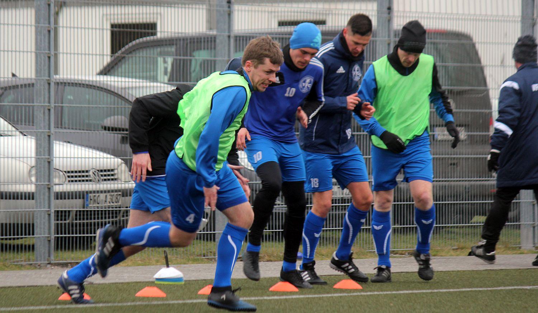 Landesliga-Fußballer nehmen an Lauf-Challenge teil