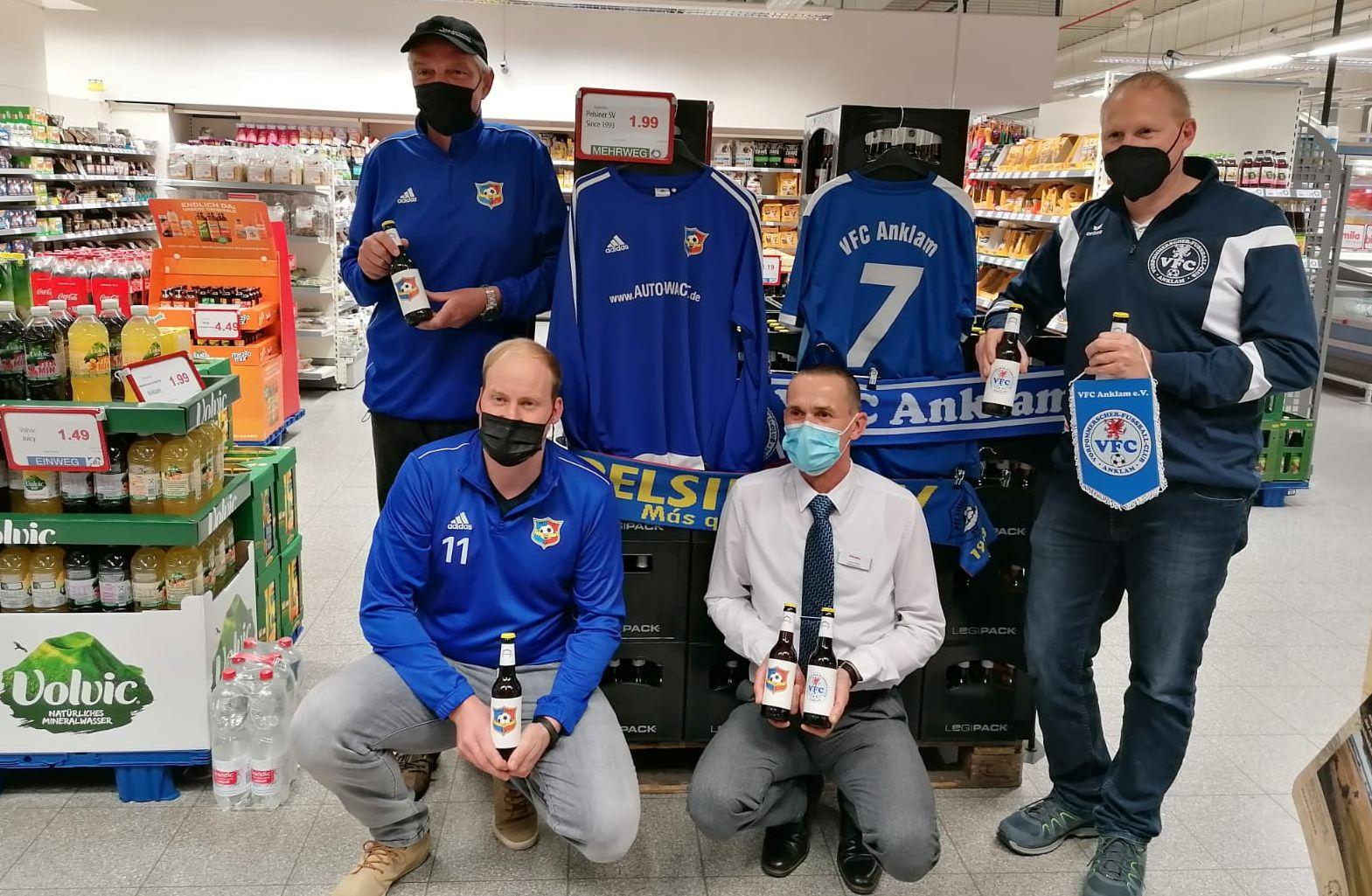 """Ran an die Flaschen! Aktion """"Vereinsheim"""" ist im famila-Markt angelaufen"""