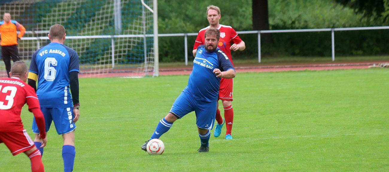 Ü35-Team kassiert klare 0:7-Niederlage gegen Ueckermünde