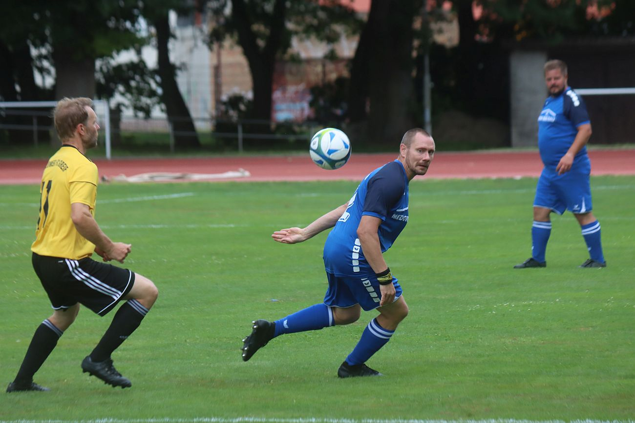 Ersatzgeschwächtes Ü35-Team verliert in Torgelow
