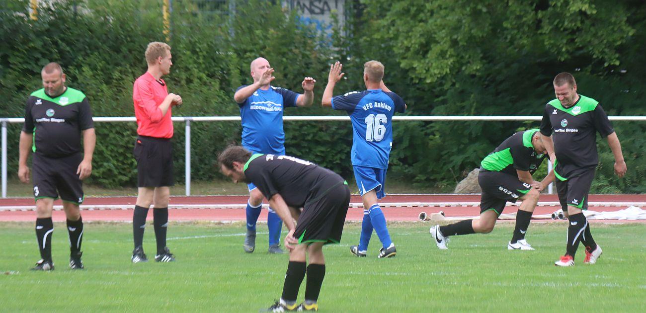 Ü35-Team bezwingt den TSV Friedland mit 3:0