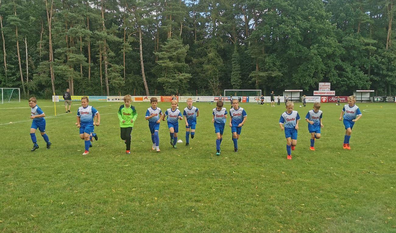 E-Junioren gewinnen Vorbereitungsspiel in Weitenhagen