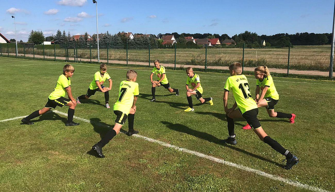 Testspiel: D1-Junioren siegen beim FSV Einheit Ueckermünde