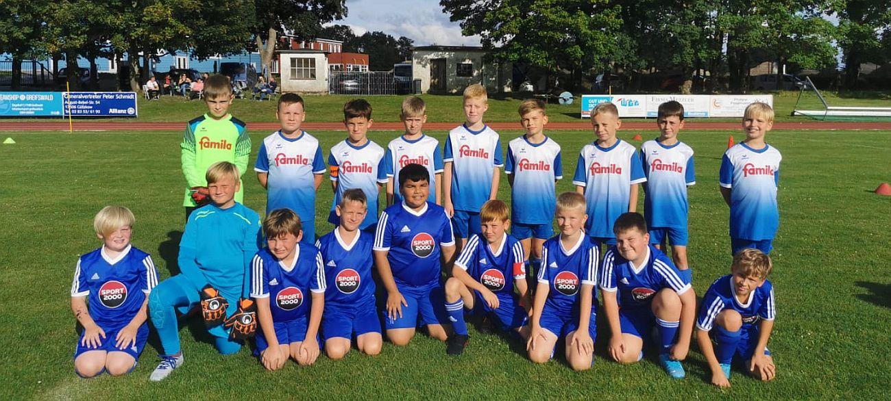 E-Junioren sammeln in Gützkow Spielpraxis