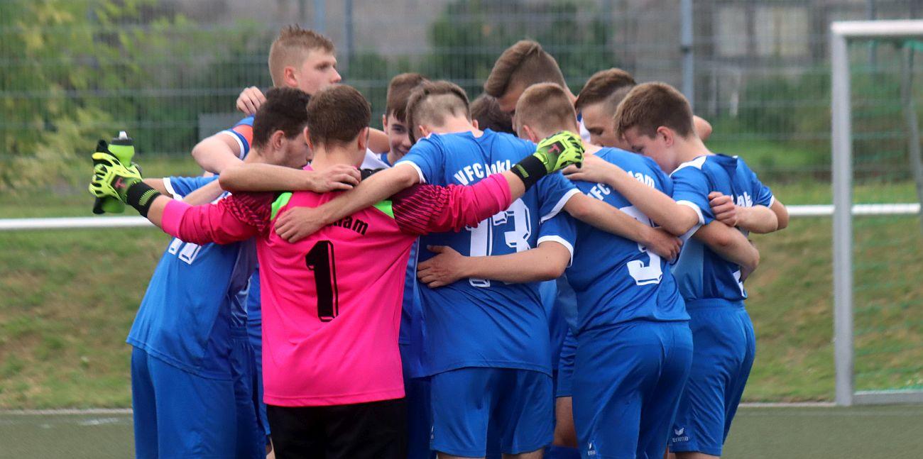 Landesliga: B-Jugend feiert gegen Wolgast den ersten Saisonsieg