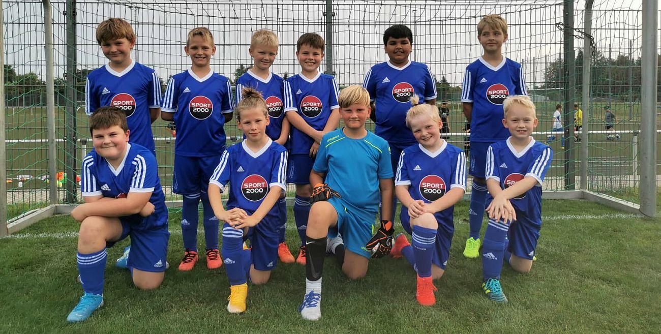 Nachwuchs-Kicker sammeln gegen den Pelsiner SV Spielpraxis