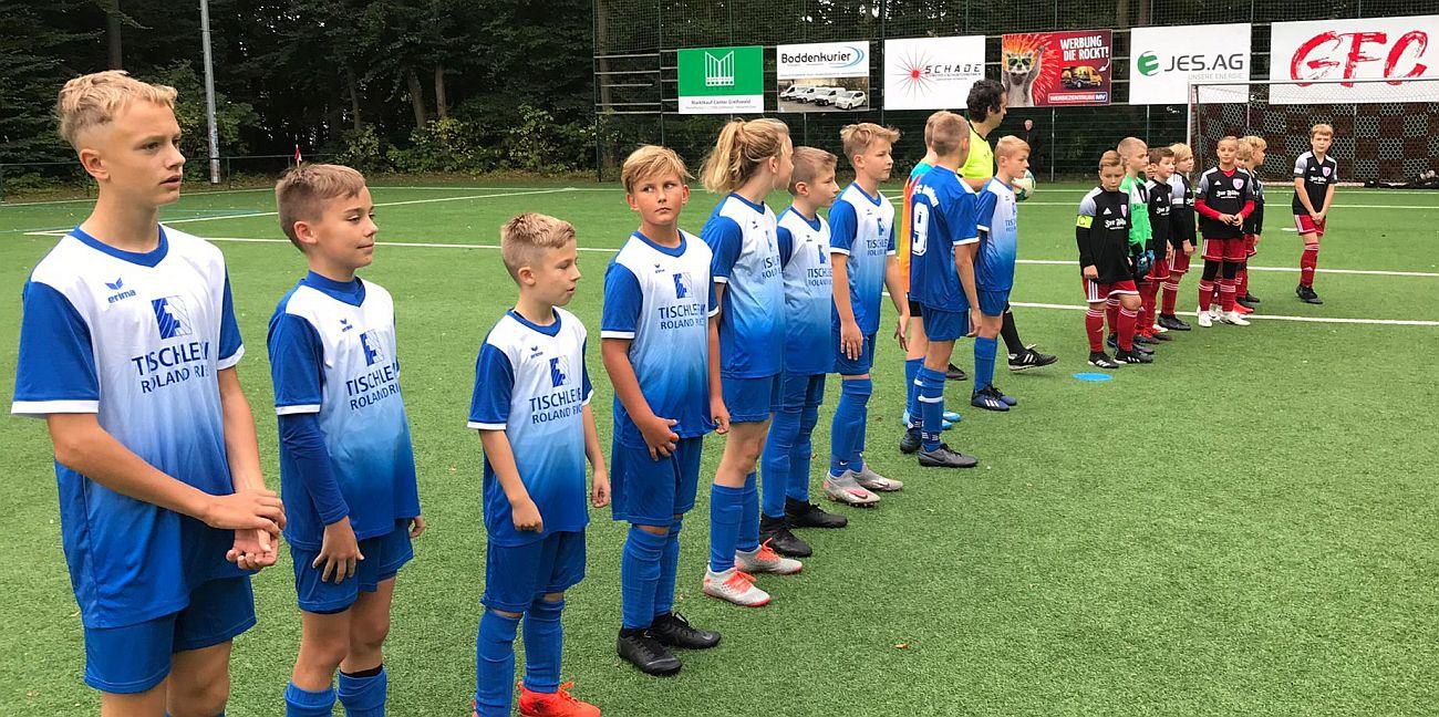 Landesliga: D1-Jugend setzt ihre Siegesserie in Greifswald fort