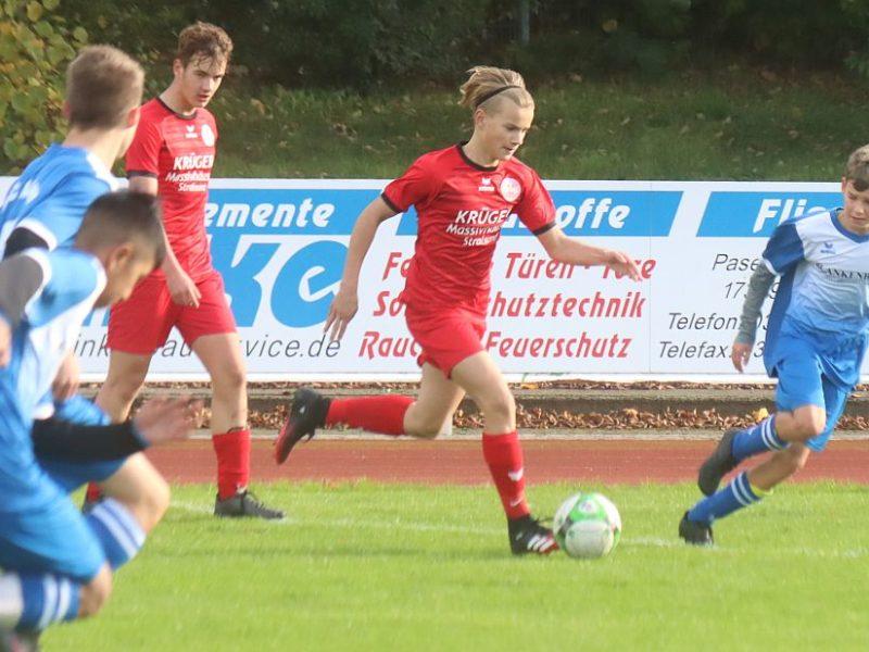 C1-Junioren kassieren deutliche Pokal-Niederlage