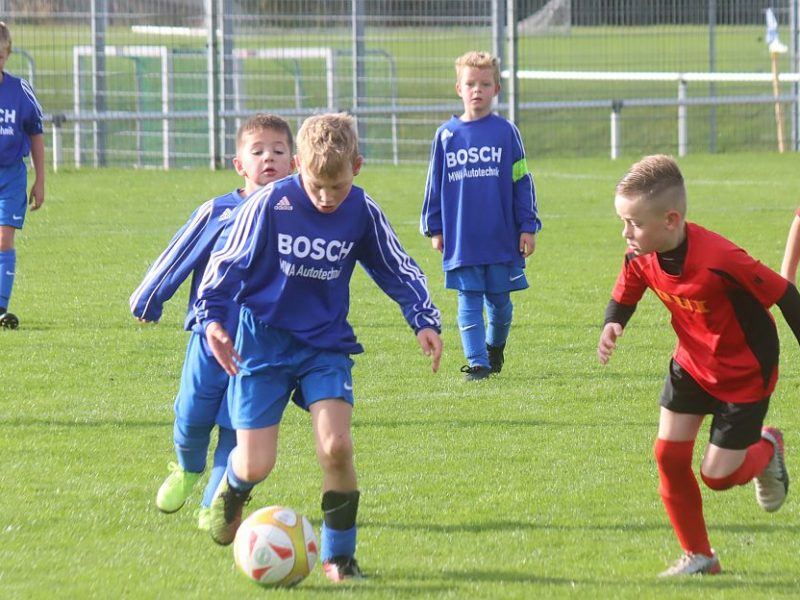 F-Junioren haben gegen Ueckermünde das Nachsehen
