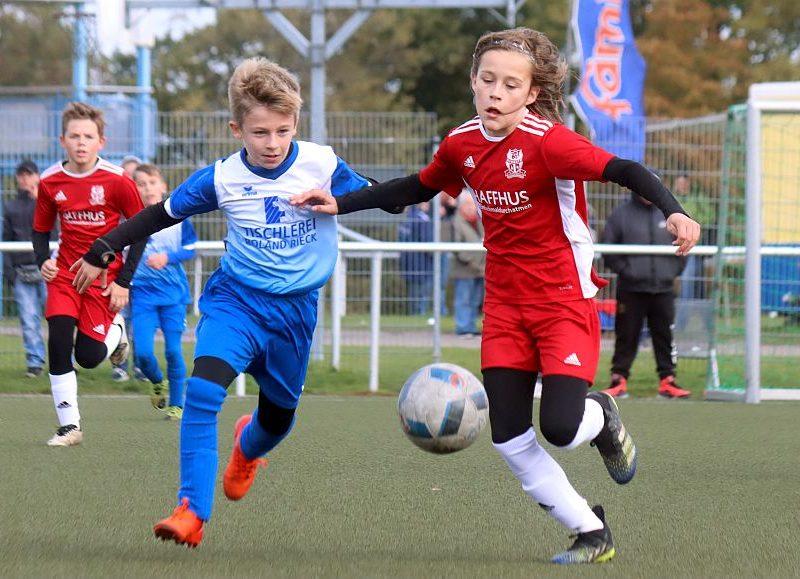 Landespokal: D1-Jugend zieht durch 2:0-Heimsieg in die zweite Runde ein
